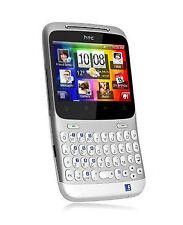 HTC CHA CHA bianco-argento, niente graffi, nessun SIM-lock, SMARTPHONE!!! NUOVO!!!