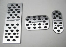 For MazdaSpeed Mazda M3 M6 M2 Aluminum Foot Rest Fuel Brake Pedal Automatic