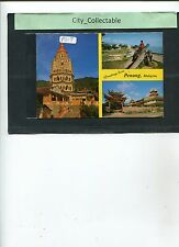 P617 # MALAYSIA USED PICTURE POST CARD * PENANG SCENERY 3 DIFF. VIEW
