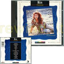 """MILVA """"I SUCCESSI"""" CD 1995 FUORI CATALOGO"""