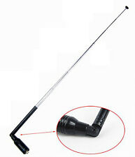 NA-774 SMA-F Female UHF/VHF Telescopic Antenna Booster for Walkie Talkie