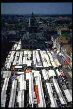 714063 Stalls Covering The Market Delft Netherlands A4 Photo Print
