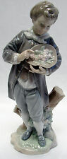 Lladro Daisa Porcelain Figure Figurine Doncel With Roses 4757