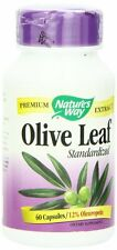 Nature's Way Olive Leaf Standardized Capsules, 60 Ct