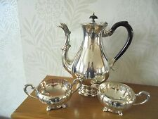 Marlboro Old English Reproduction Silver Plated on Copper Coffee Service