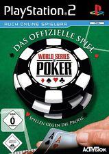 World series of poker-Le jeu officiel pour sony playstation 2 ps2 Nouveau/OVP