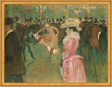 At the Moulin rouge: the Dance Henri de toulouse-lautrec paris danser B a1 02226