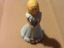 10 Year Old Enesco Growing Up Birthday Girls Porcelain and / or Cake Topper