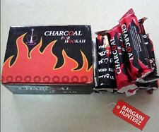 CHARCOAL DISC SHISHA HOOKAH COAL NARGILA INSTANT LIGHT TABLETS FULL BOX UK