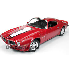 1972 PONTIAC FIREBIRD TRANS AM RED 455 HO 1:18 LTD TO 1500PC BY AUTOWORLD AMM998