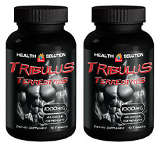 Tribulus Terrestris 1000mg Muscle Gain Enhancement Testosterone Supplement 2B