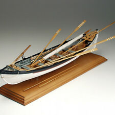 "Beautiful, Detailed Wooden Model Ship Kit by Amati: ""New Bedford Whaleboat"""
