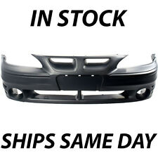 New Primered - Front Bumper Cover Replacement For 1999-2005 Pontiac Grand Am GT