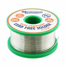 """MG Chemicals 4900-227G 96.5Sn/0.5Cu/3Ag No Clean Lead Free Solder 0.032"""" NEW!!!"""
