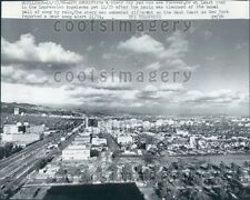 1966 Aerial View of 1960s Los Angeles California Press Photo