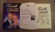 Jayne Torvill  Christopher Dean SIGNED Our Life on Ice The Autobiography Book HB
