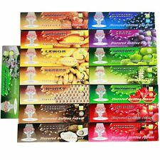 6 X Packs Hornet 110MM Juicy Fruit and Honey Flavored Cigarette Rolling Paper