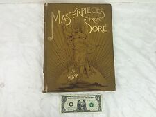 Rare 1887 Masterpieces from Dore  from Works of Gustave Dore by Edmund Ollier