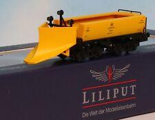 Liliput 260904, Spur N, DB Schneepflug, 4achs., gelb, Epoche 4, Liliput L260904