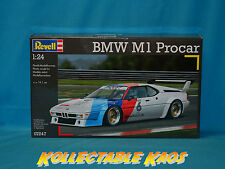 1:24 Revell - BMW M1 Procar - Plastic Model Kit(07247)