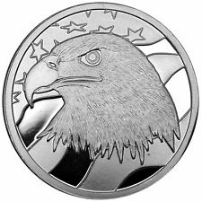 Pledge of Allegiance Silver Eagle 1oz .999 Fine Silver Round by SilverTowne