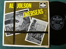 AL JOLSON with LOU BRING Orchestra : Overseas - LP BRUNSWICK England 1956