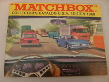 MATCHBOX LESNEY COLLECTOR'S CATALOG USA EDITION 1969
