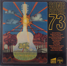 "12"" LP - Various - Songfestival 73 - k3070 - RAR - washed & cleaned"