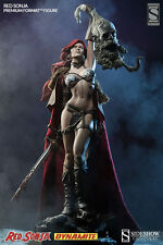 SIDESHOW EXCLUSIVE RED SONJA Premium FORMAT Figure Comic Bust Conan Bust STATUE