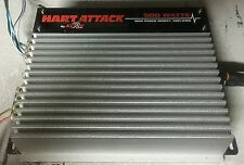 Old School Hart Attack 2 Channel 500W amplifier,Rare,Amp,made by Kove Audio