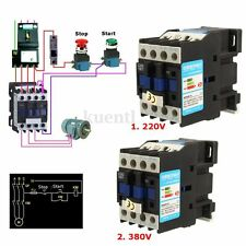 AC Contactor Motor Starter Relay CJX2-1801 3 POLE+1NC 220V/380V 18A COIL 4/7.5KW