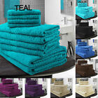 LUXURY EGYPTIAN COTTON TOWELSWITH DOTTED PANELS - BALE OF 10 -RRP FROM £29.99