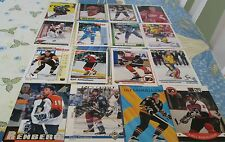 SWEDEN  HOCKEY PLAYERS  LOT 450 CARDS MNT