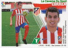 18 ANGEL CORREA ARGENTINA ATLETICO MADRID STICKER LIGA 2016 PANINI