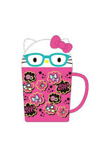NEW AUTHENTIC SANRIO HELLO KITTY WATER CUP BOTTLE WITH LID  glasses