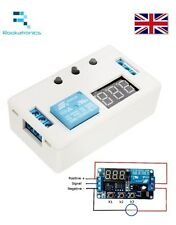 LED Automation Delay Timer Control Switch Relay Module 12V With Case