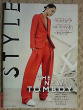 THE SUNDAY TIMES STYLE MAGAZINE BINX WALTON COVER NOOMI RAPACE BICESTER VILLAGE