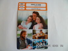 CARTE FICHE CINEMA 2007 GRACE IS GONE John Cusack Shelan O'Keefe G.Benardczyk