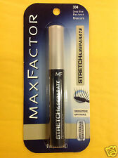 Max Factor Stretch & Separate Mascara DEEP BLUE #304 ORIGINAL FORMULA NEW.