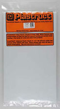 NEW Plastruct White Sheet Styrene .040  (4) 91104