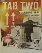 Tab Two - Between Us, Very Rare Tourposter, Ich-Zwerg