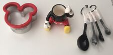 New Disney Parks, Sandwich Cutter, Tablespoon Set And Toothpick Holder