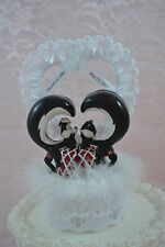 Pepe Le Pew & Penelope Wedding Cake Topper New Personalized White Valentine's