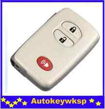 3 buttons smart key remote case shell for Toyota Land Cruiser Venza 4Runner