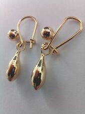9ct Gold Filled Tear Drop Earrings UKN26