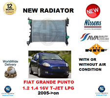 FOR FIAT GRANDE PUNTO 1.2 1.4 16V TJET LPG 2005  NEW RADIATOR OE QUALITY
