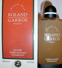 Roland Garros, Fluide, After Shave, Tonifiant, 100ml, Ref.:52891S, New, Abs. Rar