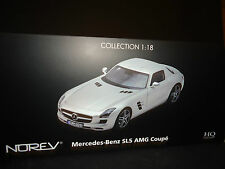 Norev Mercedes Benz SLS AMG 2010 Silver 1/18 High Quality