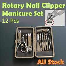 Nail Clipper Manicure Grooming Kit Pedicure Beauty Care Set Stainless Steel Tool