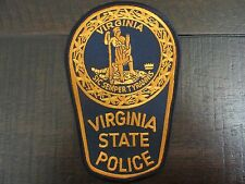 NEW LARGE Color Patch Virginia State Police SIC Semper Tyrannis - Sew On